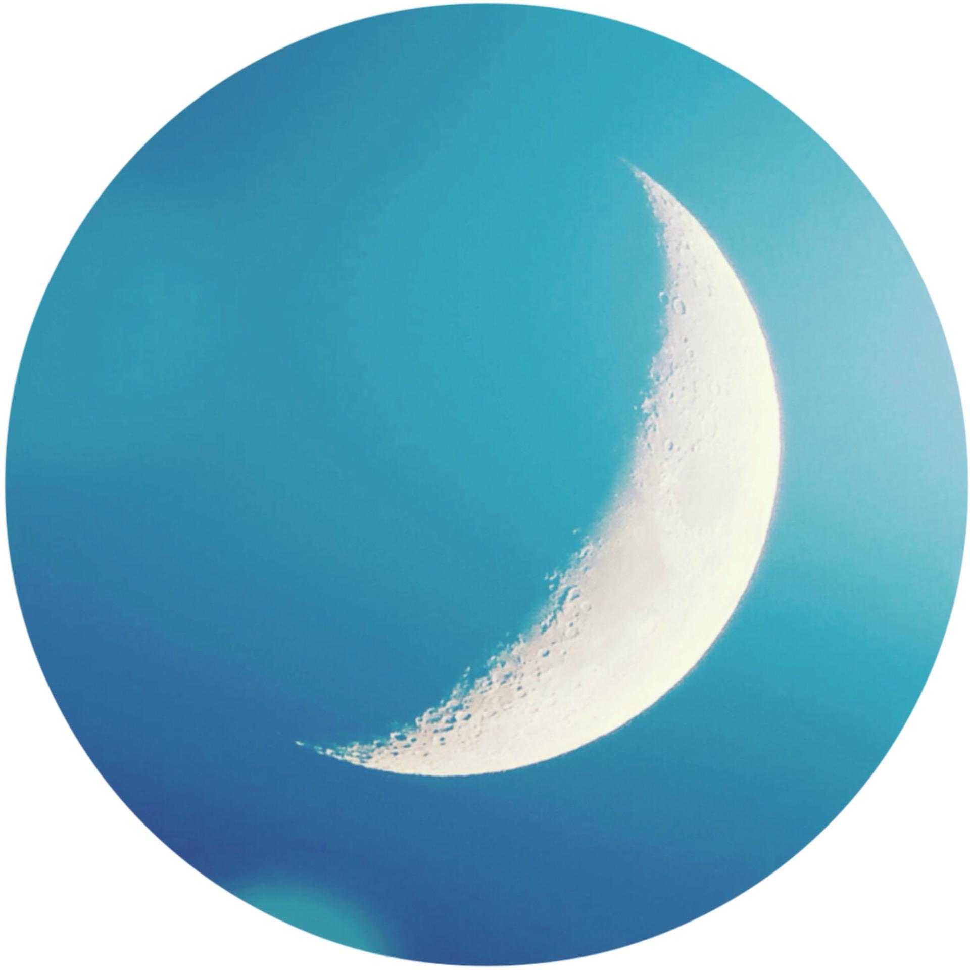 * 空と月 *